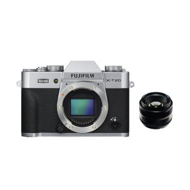 Fujifilm X-T20 Kit 35mm f/1.4 Kamera Mirrorles +Printer sp2