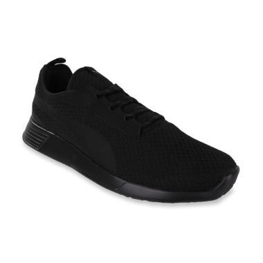 bf0c8e0818 PUMA ST Trainer Evo V2 Mens Running Shoes Sepatu Lari Pria - Black   PMA363742-01