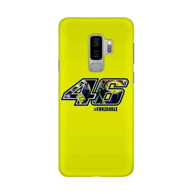 harga Indocustomcase Valentino Rossi VR46 ID14 Cover Casing for Samsung Galaxy S9 Plus Blibli.com