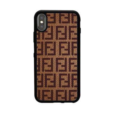 Acc Hp Fendi Bag W5233 Custome Casing for iPhone XS