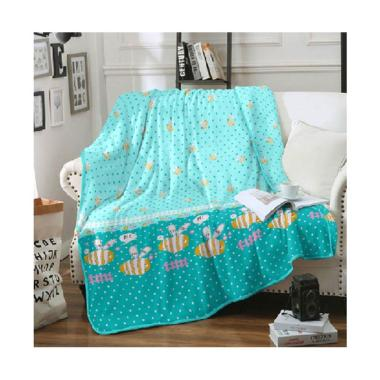 Kintakun Summer Bee Linen New Kids Edition Selimut [200 x 160 cm]