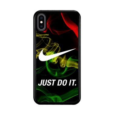 harga Flazzstore Reggae Nike Wallpaper X3353 Premium Casing for iPhone XS Blibli.com