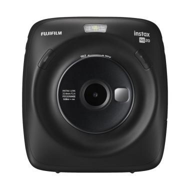 harga Fujifilm Instax Square SQ20 Kamera Polaroid Free 1 Twin Pack, 1 Star Illumination - Braga Photo & Video Blibli.com