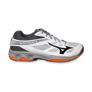 Sepatu Voli Mizuno V1ga177047 Thunder Blade Ombre Blue Safety Yellow ... 193869a8a4