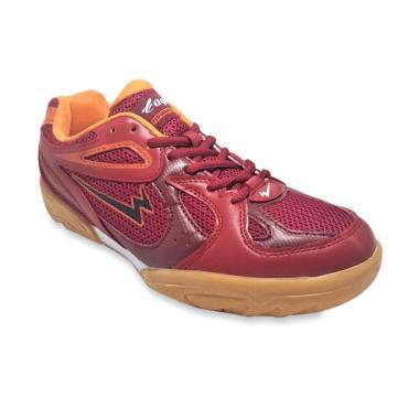 Eagle Hyper Shock Sepatu Badminton Pria - Merah