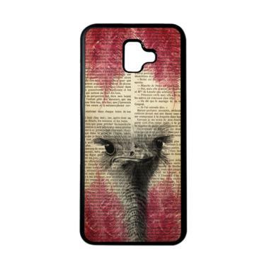 harga HEAVENCASE Motif Burung Bird 06 Softcase Casing for Samsung J6 Plus - Hitam Blibli.com