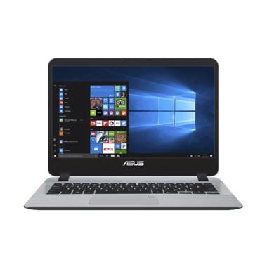 harga Asus A407UF-BV073T Fingerprint Laptop - Star Grey [Core i3-7020U/ SSD 256GB/ Memory 4GB/ Win 10/ 14 Inch HD] Blibli.com