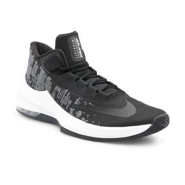 grossiste dcf8e 377a4 NIKE Men Basketball Air Max Infuriate 2 Middle Sepatu Basket [AA7066-001]