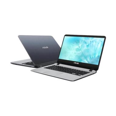 harga Asus VivoBook A407MA-BV411T Notebook - Star Grey [Intel N4000/ Fingerprint/ 4GB/ SSD 128GB/ 14 Win10] Blibli.com