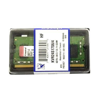 harga Kingston SODimm Memory RAM [4GB/ DDR4/ 2400MHz] Blibli.com