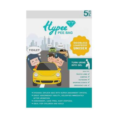 HYPEE Bag Kantong Urine Anak Emergency [isi 5 Pcs]