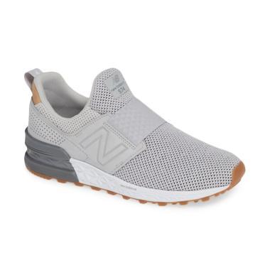 new style 3376d 445ab Jual New Balance 574 Sport Slip on M Shoes Sepatu Olahraga ...
