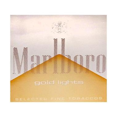 MARLBORO Gold Lights 20 Rokok [1 slop/ 10 bungkus]