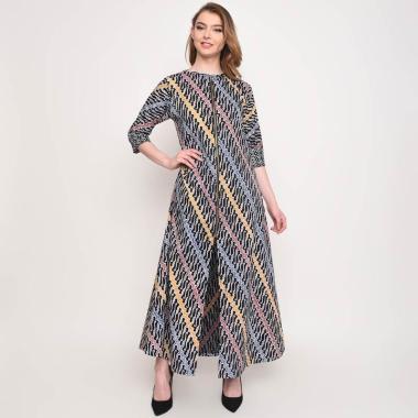 Batik Huza Kiara Dress Wanita