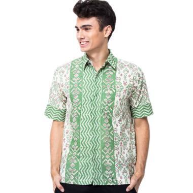 Batik Trusmi Soft Kemeja Batik Pria [FJR]