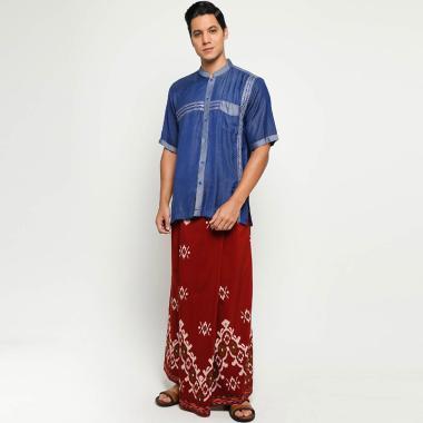 Batik Arjunaweda Paket Ramadhan 3 BajuKoko & Sarung Pria- Merah [94198049]