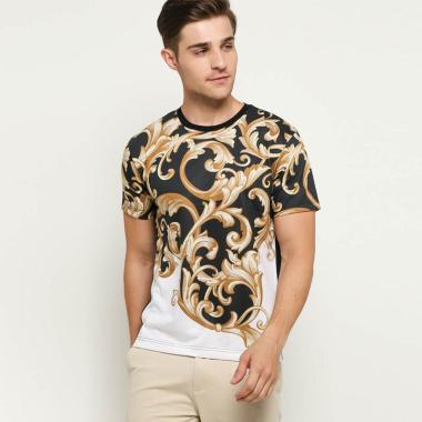 harga SPEAR Motif Batik Mas Printing 3D T-Shirt Pria [E14] Blibli.com