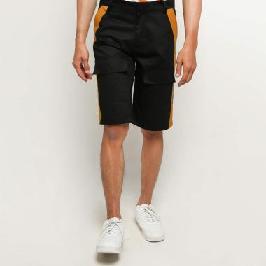 Amot Syamsuri Muda Star Wars Inspired Shorts Pants Pria  - Black [C3PO]