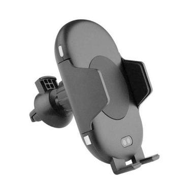 KIIP C10 Infrared Sensor Car Holder QI fast Wireless Charger - Hitam [10W]