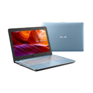 harga ASUS X441UA-GA322T Notebook - Ice Blue [i3-7020U/ 4GB/ 1TB/ 14 Inch / WIN10] Blibli.com