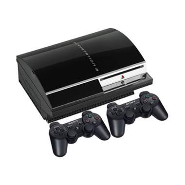 harga SONY Playstation 3 Fat Cfw 4.84 HDD 160 GB with 2 Stik Wireless Full Game Blibli.com