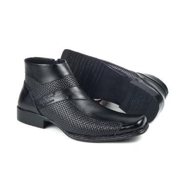 harga Kickers Pantofel Boots Sepatu Formal  Pria - Hitam [0317HT] Blibli.com