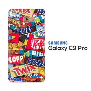 harga Casing Custom Hardcase Snack Wallpaper L2934  Samsung C9 PRO Blibli.com