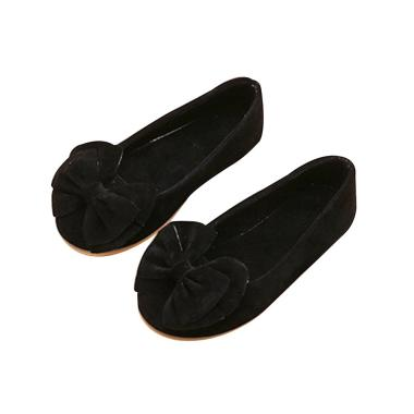 harga Bluelans Kid Girl Solid Color Bowknot Soft Rubber Soled Princess Dress Shoes Flat Sandals Blibli.com