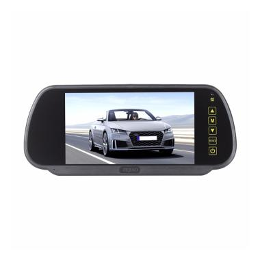 Cloverclover Tri-fold surface rear view mirror reversing wide-angle lens