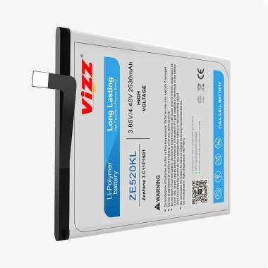 harga Vizz ZE520KL Baterai Handphone for Asus Zenfone 3 5.2 Inch [Original] Blibli.com