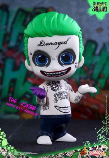 "hot toys Cosbaby Suicide Squad /""THE JOKER/"" Keychain"