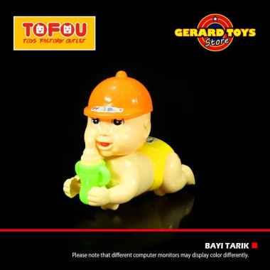 harga OEM Dot Rangkak Tarik Helm Dot Mainan Bayi - Orange