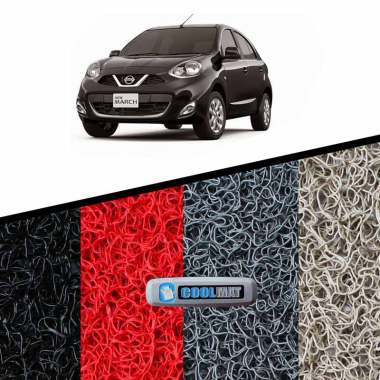 harga KARPET MOBIL PVC - NISSAN ALL NEW MARCH (K14) 2017Up SPORTY 12 mm, BAGASI Blibli.com