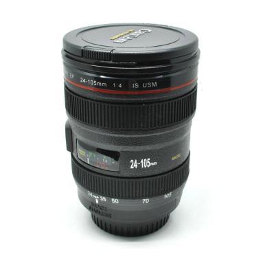 harga Rimas Gelas Minum Bentuk Lensa Kamera EF 24-105mm - Hitam [400 mL] Hitam Blibli.com