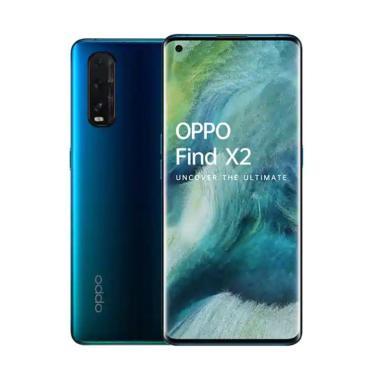 OPPO Find X2 Smartphone [256 GB- 12 GB] Blue Wave