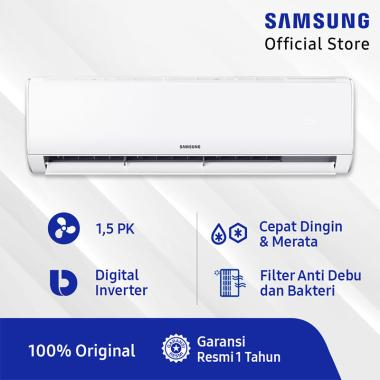 harga Pre Order - Samsung AR12TGHQASINSE Wall Mount AC Inverter [1.5 PK] Blibli.com