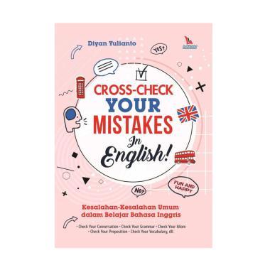 harga LAKSANA Cross-Check Your Mistakes in English by Diyan Yulianto Buku Edukasi Blibli.com