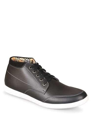 JAVA SEVEN Syntetic Sepatu Kasual Pria [HAB 008]