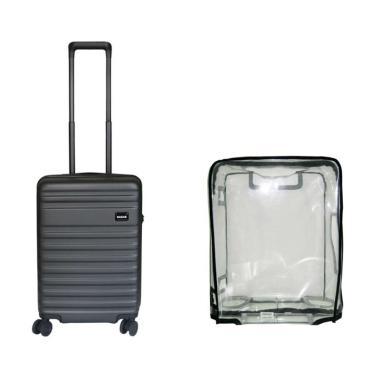 Bagasi Bidara Bundling Koper Hardcase [21 Inch] + Free Luggage Cover Small