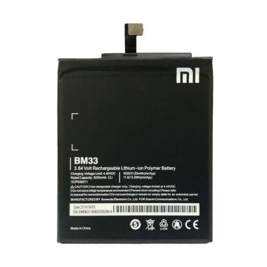 harga Xiaomi BM33 Baterai Handphone for Xiaomi Mi 4i [Original / 3030 mAh] Blibli.com