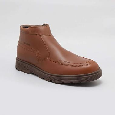 BUCCHERI Lord Sepatu Boots Pria - Coklat