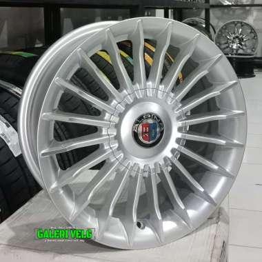 harga Alpina Velg Mobil - Silver [14x6 8h +38] silver Blibli.com