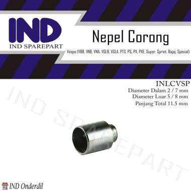 harga IND Onderdil Nipple Corong Motor for Vespa PTS/ PS/ PX SILVER Blibli.com