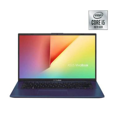 harga Asus A412FL-EK513T Notebook - Blue [I5-10210U/ 4GB/1TB HDD/ MX250 2GB/ 14