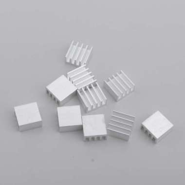 harga 10PK Aluminum Heatsink Cooling Fin 14x14x7mm Power Source Heat Sink - Blibli.com