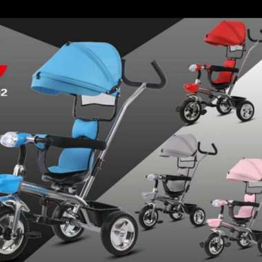 harga Sepeda anak roda tiga Aviator AT 7702 blue Blibli.com