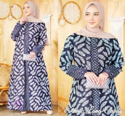 Jual Baju Gamis Batik Kombinasi Terbaru Harga Murah Blibli Com