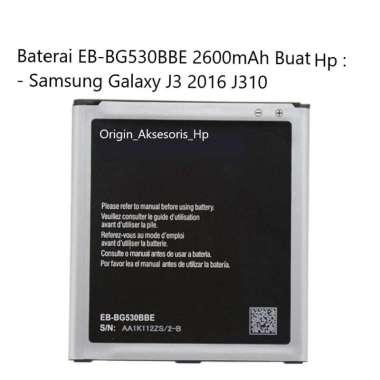 harga Original Baterai EB-BG530BBE Buat Handphone Samsung Galaxy J3 2016 Blibli.com