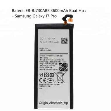 harga Original Baterai EB-BJ730ABE Buat Handphone Samsung Galaxy J7 Pro Blibli.com