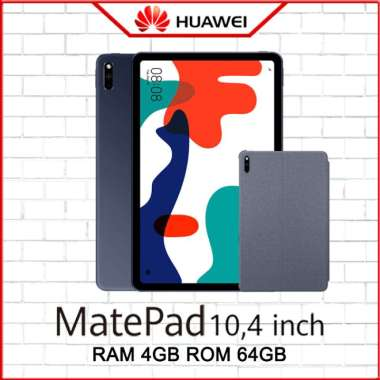 HUAWEI MATEPAD 10.4 INCH 4/64 RAM 4GB ROM 64GB WIFI ONLY GARANSI RESMI FREE FLIP COVER